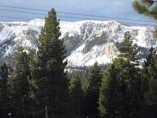 Mammoth Lakes condo photo - Winter view from balcony.