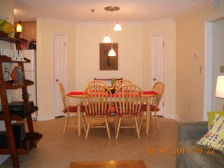 Folly Field condo photo - Dining Area (view from Living Room)