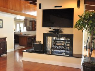"Anaheim house photo - Dual Gas Fireplace with 60"" LED and Surround Sound"
