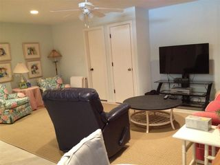 New Smyrna Beach townhome photo - Downstairs bonus room (another view). Full bath is first door on left.