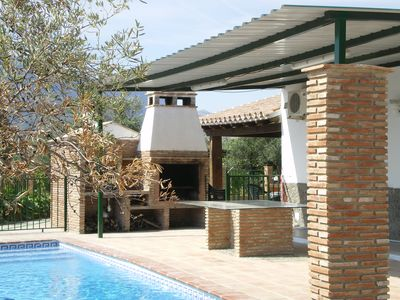 A collection of three small houses with private pool in rural andalucia