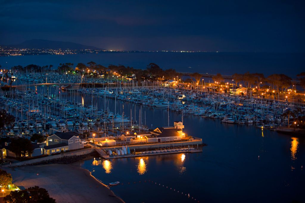 Dana Park Harbor with 2500 yachts and 50 shops  and restaurants very close too