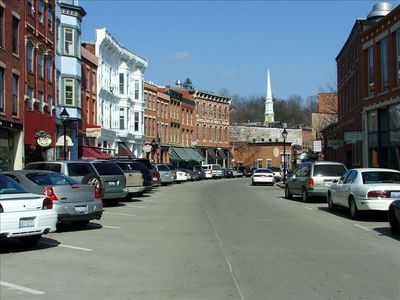 Downtown Galena, just 15 minutes away