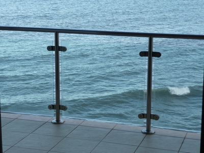 Luxury modern sea front apartment with stunning uninterrupted sea views - Reflections