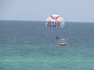 Parasailing - One of the activities just 2min away