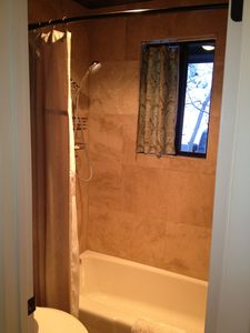 Old Town condo rental - Master Shower,