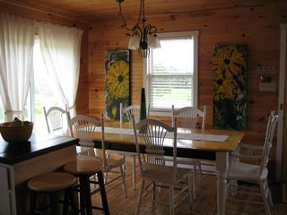 Darnley cottage photo - Open dining area