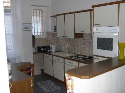 Apartment in large town house with garden