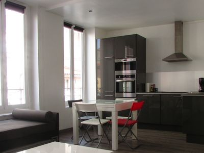 Apartment furnished and equipped