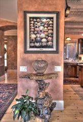 Sedona villa photo - Native American Pottery & Southwest Art Grace the Light-Filled Aerie