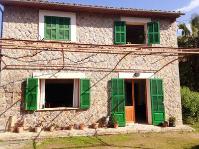 Beautiful sunny cottage in Sóller, 15 min from the beach - Ideal family