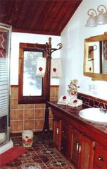 Breckenridge house photo - Our imported bath tiles are from France and Italy.