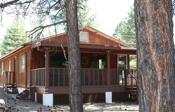 Munds Park cabin rental - Your own quiet cabin in the woods!