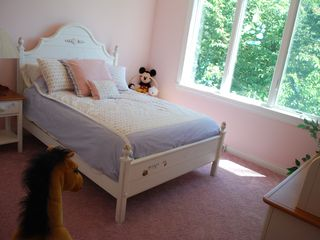 Lake Wisconsin house photo - Bedroom with double bed, changing table and crib optional