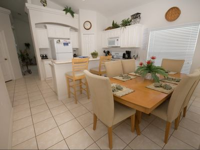 A lovely open plan kitchen-diner for all the family to enjoy