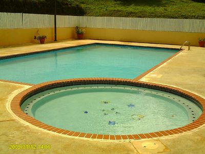 Fajardo condo rental - One of three pools