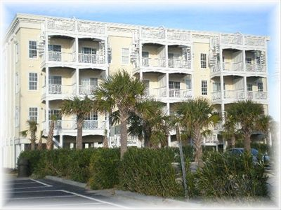 Our unit is a low density building centrally located in Carolina Beach