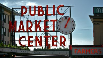Pike Place Market is just a block away!