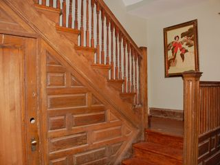 Eckington townhome photo - Stair landing, from parlor.