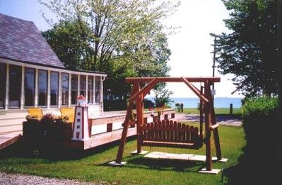 Sailaway Cottage has an outstanding view of Lake Huron!