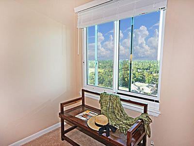 Third Master Suite with beautiful views of the near by golf course