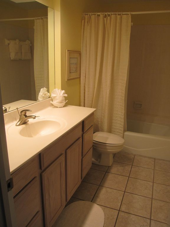 Full Bath Room on First Floor
