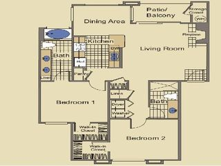 Kierland Scottsdale condo photo - Floor Plan