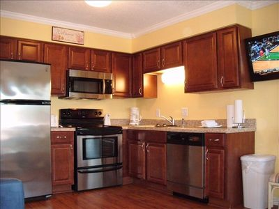 Newly remodeled kitchen-new cabinets,countertops, sink & appliances