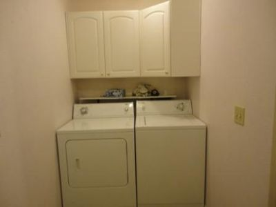 Laundry Room and entrance from Garage