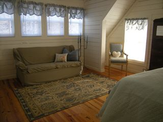 Helen cottage photo - also a fold out sofa in upstairs bedroom