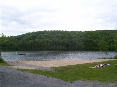 Private Beach for East Cove Lake Association Residents