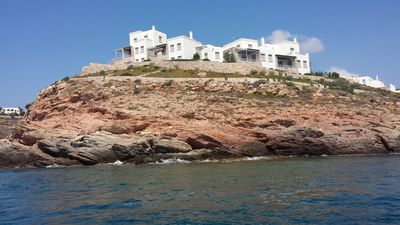 Seafront Villa with Unique SeaView & PrivateBeach .. Book now & Pay on arrival!