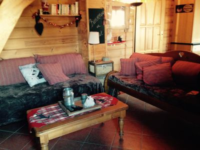 SUPER PROMO JANUARY € 390 COZY CHALET heated pool ..