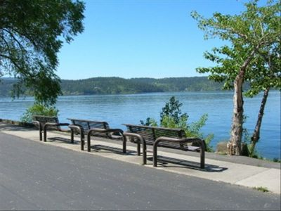 Lake Coeur d' Alene, only a few minute drive from our Community.
