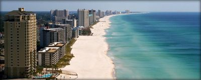 Beaches of Panama City Beach in front of Grand Panama