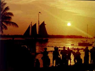 Key West condo rental - Beautiful Key West Sunsets