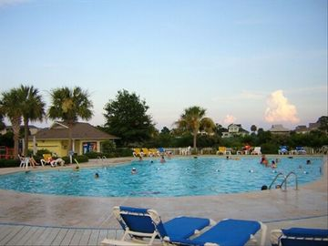 Pool at Beach & Racket Club Tennis Volley & Basket Ball Workout Room Kids Area &