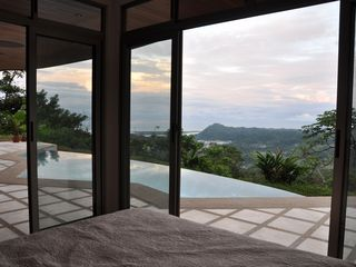 Ojochal villa photo - Bedroom Pool and Ocean View