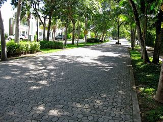 Playa del Carmen condo photo - This is our street - nice and quiet.