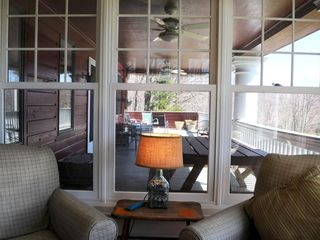 Tannersville farmhouse photo - The Porch from the Sun Room.