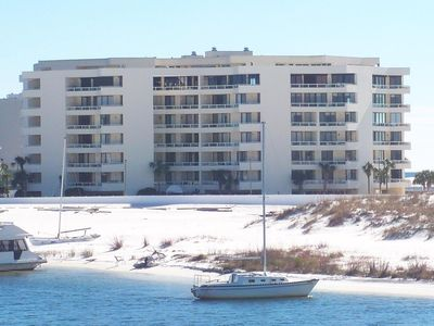 Destin Harbor on the east, East Pass on the West, water views in all directions!