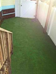 Ponte Vedra Beach house photo - New dog yard with aritificial turf; access from lower level porch and game room!