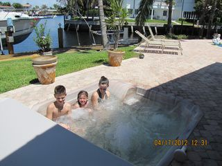 Pompano Beach house photo - Hot tub fun