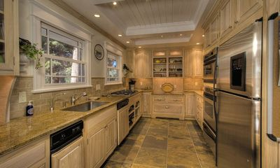 Tahoe City house rental - Gourmet Kitchen with Granite Counter Tops