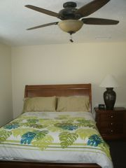 Cayman Brac townhome photo - .Guest bedroom with queen size bed.
