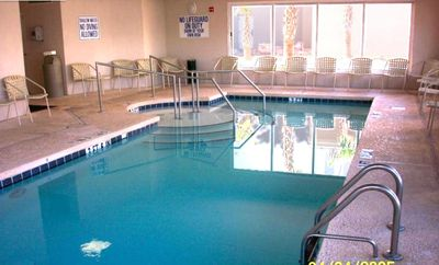 Crescent Beach condo rental - Indoor Heated Pool