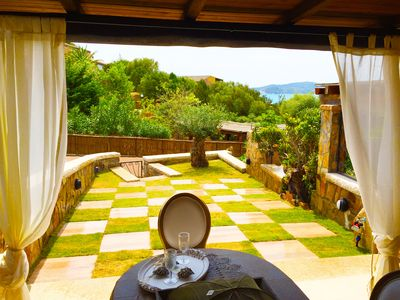 Terraced 150 meters from the sea, VILLASIMIUS