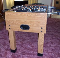 Lake Placid house photo - Foosball table