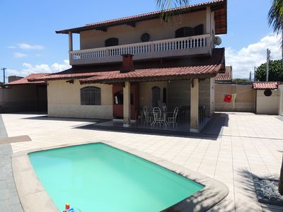 Beautiful house 04 bedrooms (03 suites), 05 bathrooms, air conditioning and pool