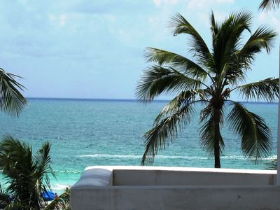 South Beach condo rental - Ocean View from the Balcony